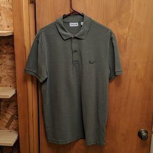 Lacoste Men's Slim Fit L Polo Green